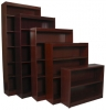 GM30, GM48, GM60, GM72, GM84 <br> Mahogany - Mahogany Bookcases