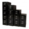 532PF, 533PF, 534PF, & 535PF <br> Metal - Black, Letter Size, Vertical File Cabinet