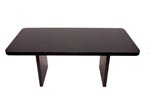 IS6TD <br> Black Laminate - Table Desk 36 x 72