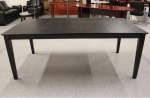 1561-78 <br> Black Table Desk - Table Desk 40 x 78