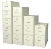 532PF, 533PF, 534PF, 535PF <br> Metal - Putty, Letter Size, Vertical File Cabinet