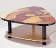 XAXI2/CT <br> Multi Lacquers - XAXI2/CT Multi-Color Lacquer Free Form Coffee Table