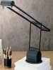 LS321 <br> Sleek Halogen - Black, Sleek Halogen Desk Lamp