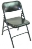 3000 Black Metal Folding Chair - 3000 Black Metal Folding Chair