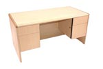LM3060 <br> Maple Laminate - Executive Desk 30 x 60