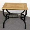 MIL/ET <br> Maple/Black - MIL/ET Maple/Black End Table