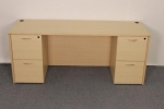 AM2472 <br> Maple Laminate - Executive Desk 24 x 72