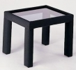 CP/ET <br> Black/Glass - CP/ET Black/Glass End Table