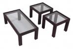 CP/CT & CP/ET <br> Blk/Glass - CP/CT Black/Glass Coffee Table ... CP/ET Black/Glass End Table