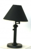 LS3330 <br> Swing Arm - Black Swing Arm Desk Lamp