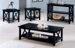 5909/CT-5909/ET-5909/ST <br> Black Veneer - 5909/CT, 5909/ET & 5909/ST - Blk Veneer Coffee, End & Sofa Table