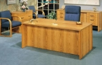 AFP3672 & AFP1872 <br> Oak Laminate - Executive Desk &amp; Matching Credenza