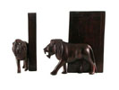 ACC10 - Tanzania Blackwood Lion Bookends