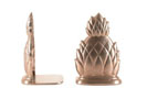 BC294P - Polished Pewter Pineapple Bookends