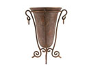 P1593 - Poly Vase Iron