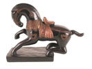 AP3871 - Black Ceramic Horse
