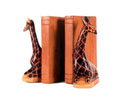ACC4 - Giraffe Bookends - Wood