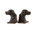 HC101 - Bronze Dog Bookends