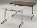 8772/8773 - Adjustable Computer Tables 24x36