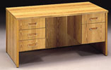 AFP3060 <br> Oak Laminate - Executive Desk 30 x 60
