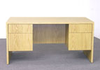 MMD3060 <br> Light Oak Laminate - Executive Desk 30 x 60