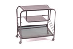 2184 <br> Black Wire Mesh - Black Wire Mesh Entertainment Center