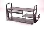 2505-01 <br> Black Wire Mesh - Black Wire Mesh Entertainment Center
