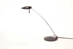LS2605 <br> Black Halogen - Black Halogen Desk Lamp