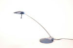 LS2605BLU <br> Blue Halogen - Blue Halogen Desk Lamp
