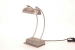 LSBL <br> Brushed Steel - Brushed Steel Desk Lamp