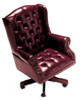 3720 - Traditional Style Executive Chair w/ Nailheads