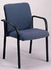 X942B - Blue W/ Black Frame Side Chair