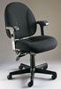 317E-ADJ - Mid Size Multi-Adjustable Posture Chair w/ Adj. Arms