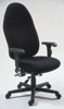 543ADJ - High Back Multi-Adjustable Executive Chair w/ Adj. Arms